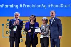 Luigi Nicolais, CNR - Diana Battaggia, UNIDO ITPO Italy - Angela Montanari, BiocopacPlus - Marco Gualtieri, Seeds&Chips