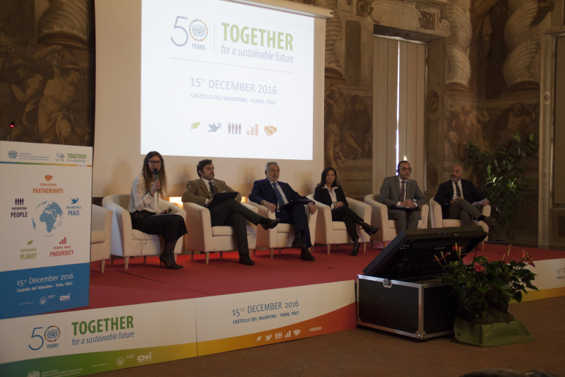 UNIDO festeggia in Italia: \'50 Years: Together for a Sustainable Future\'