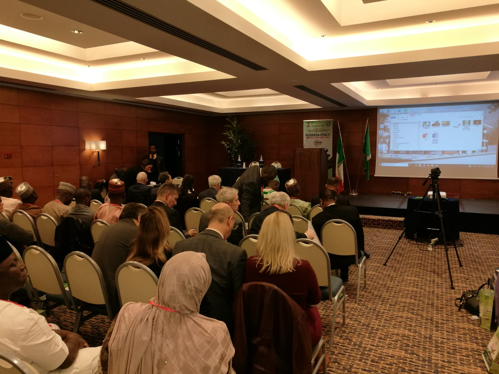 UNIDO ITPO Italy interviene al Nigeria-Italia Business e Trade Forum