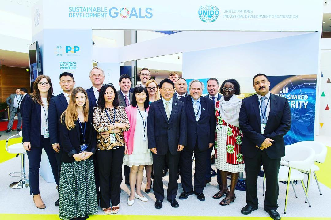 UNIDO ITPO Italy partecipa al Global Manufacturing and Industrialization Summit (GMIS)