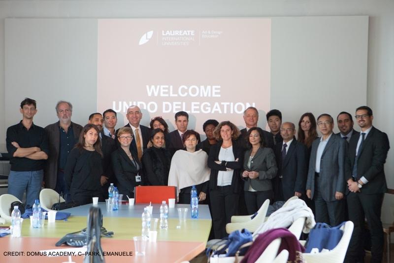 Delegazione UNIDO in visita ad EXPO Milano