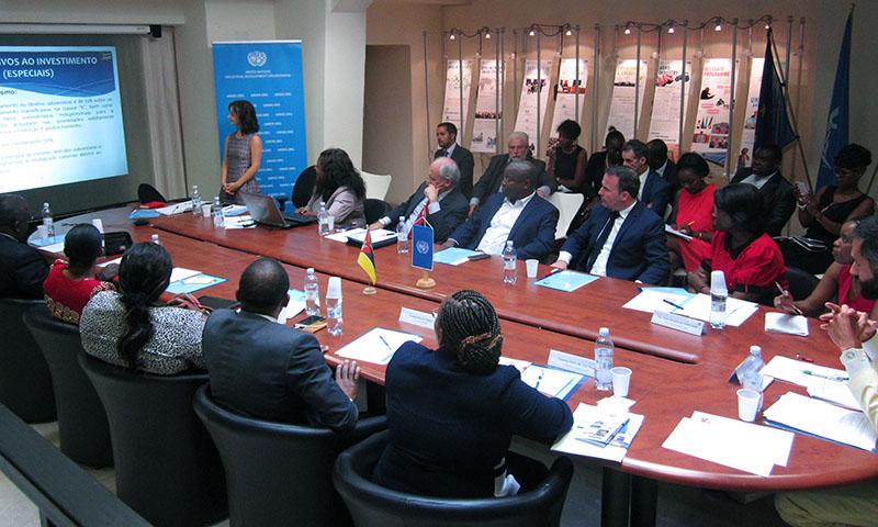 UNIDO ITPO Italy a supporto di due delegazioni dal Mozambico