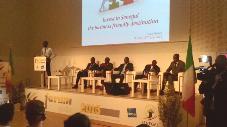 EXPO Milano: Forum Economico del Senegal