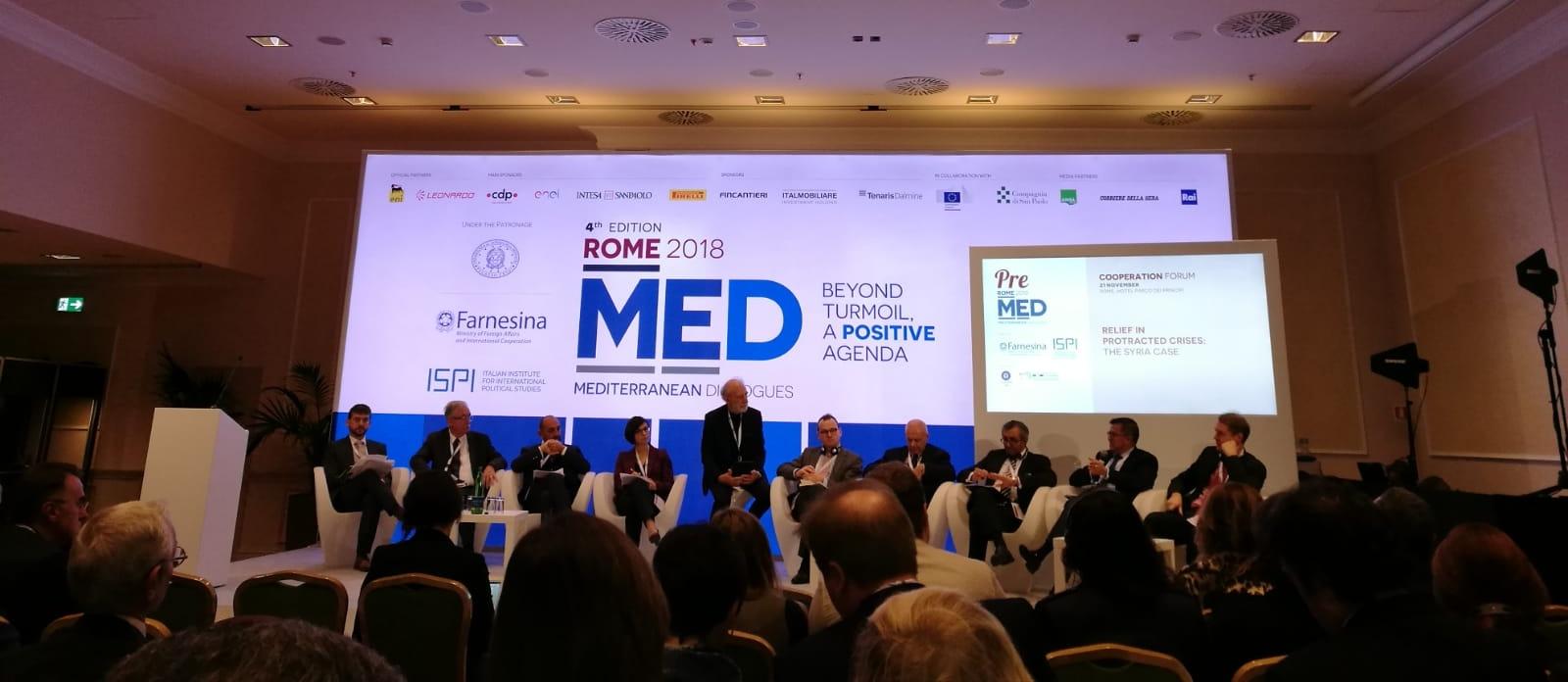 UNIDO ITPO Italy al MED2018: industrializzazione sostenibile per il progresso globale