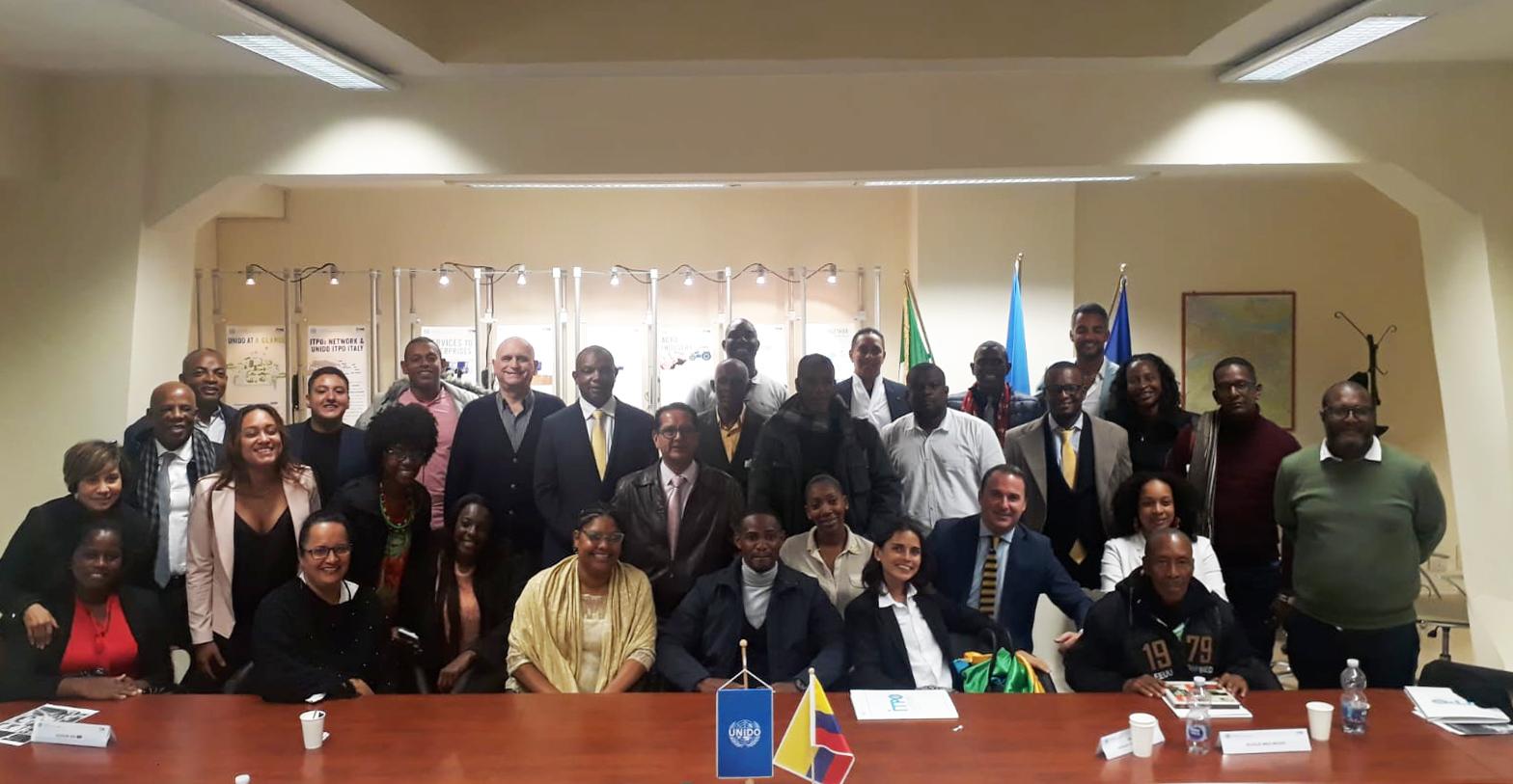 UNIDO ITPO Italy ospita una Delegazione Colombiana dalla Regione del Chocó