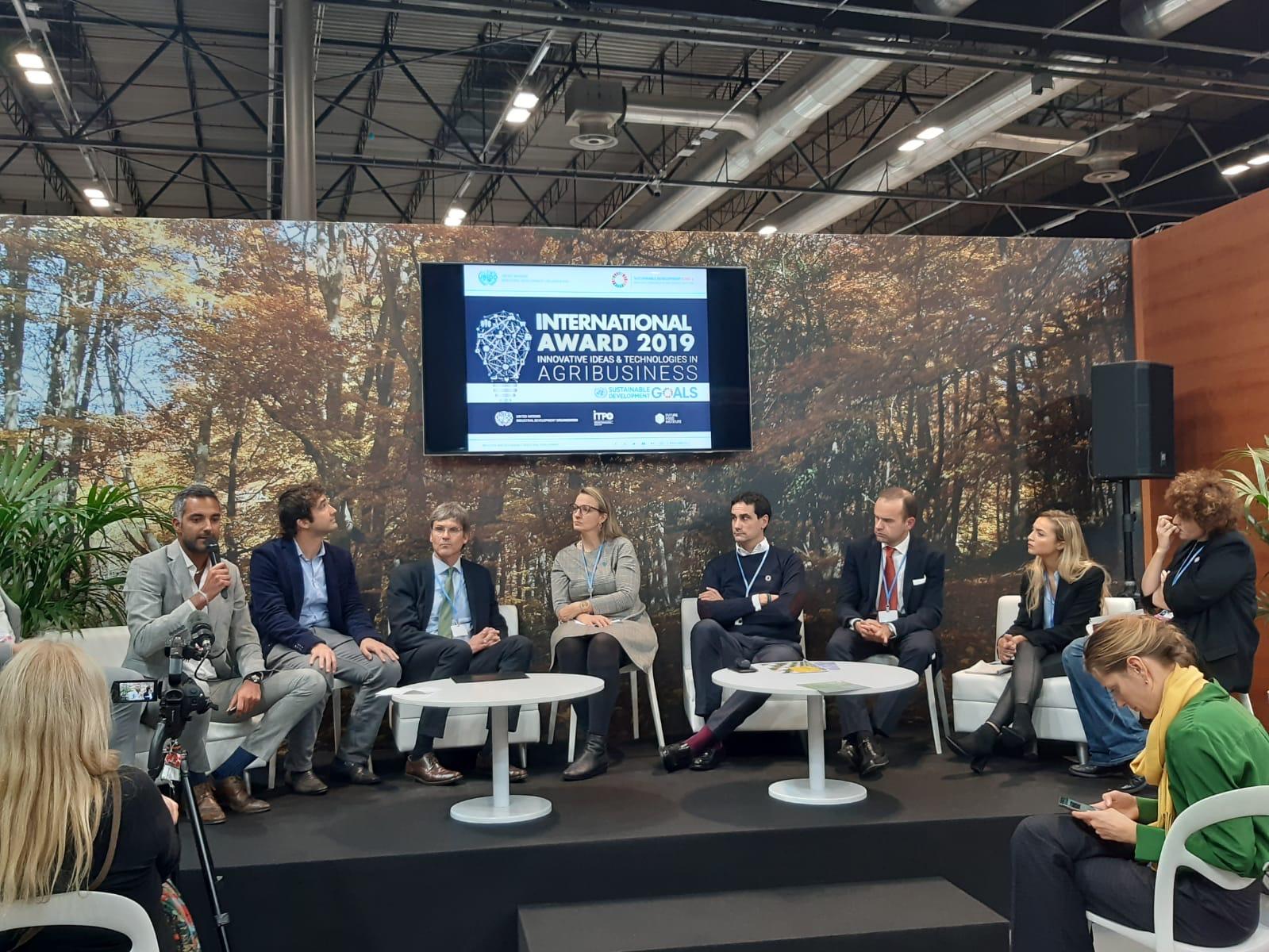 UNIDO ITPO Italy interviene alla Conferenza delle Nazioni Unite sui Cambiamenti Climatici - (CoP25) a Madrid
