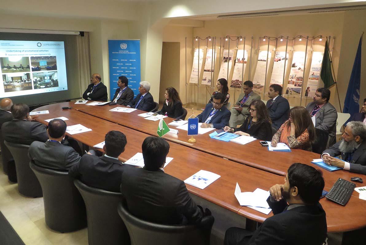 UNIDO ITPO Italy ospita La Camera di Commercio e dell'Industria di Lahore (LCCI)