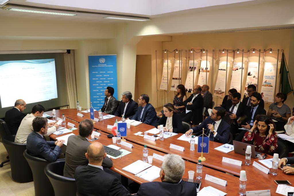 UNIDO ITPO Italy ha ospitato una delegazione dalla Repubblica Islamica dell'Iran