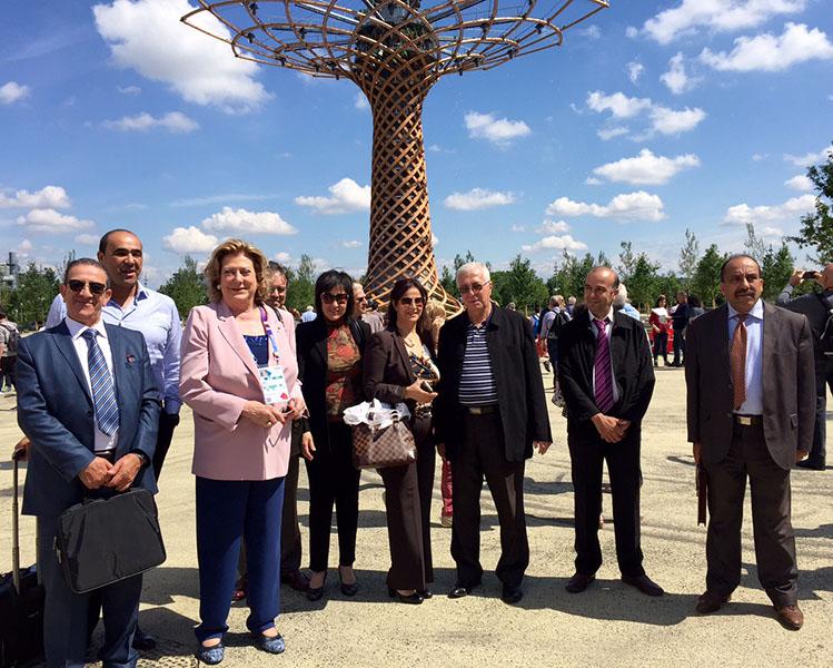 Delegazione Algerina ad EXPO 2015