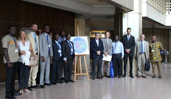 Incoming di una delegazione Ghanese in Italia