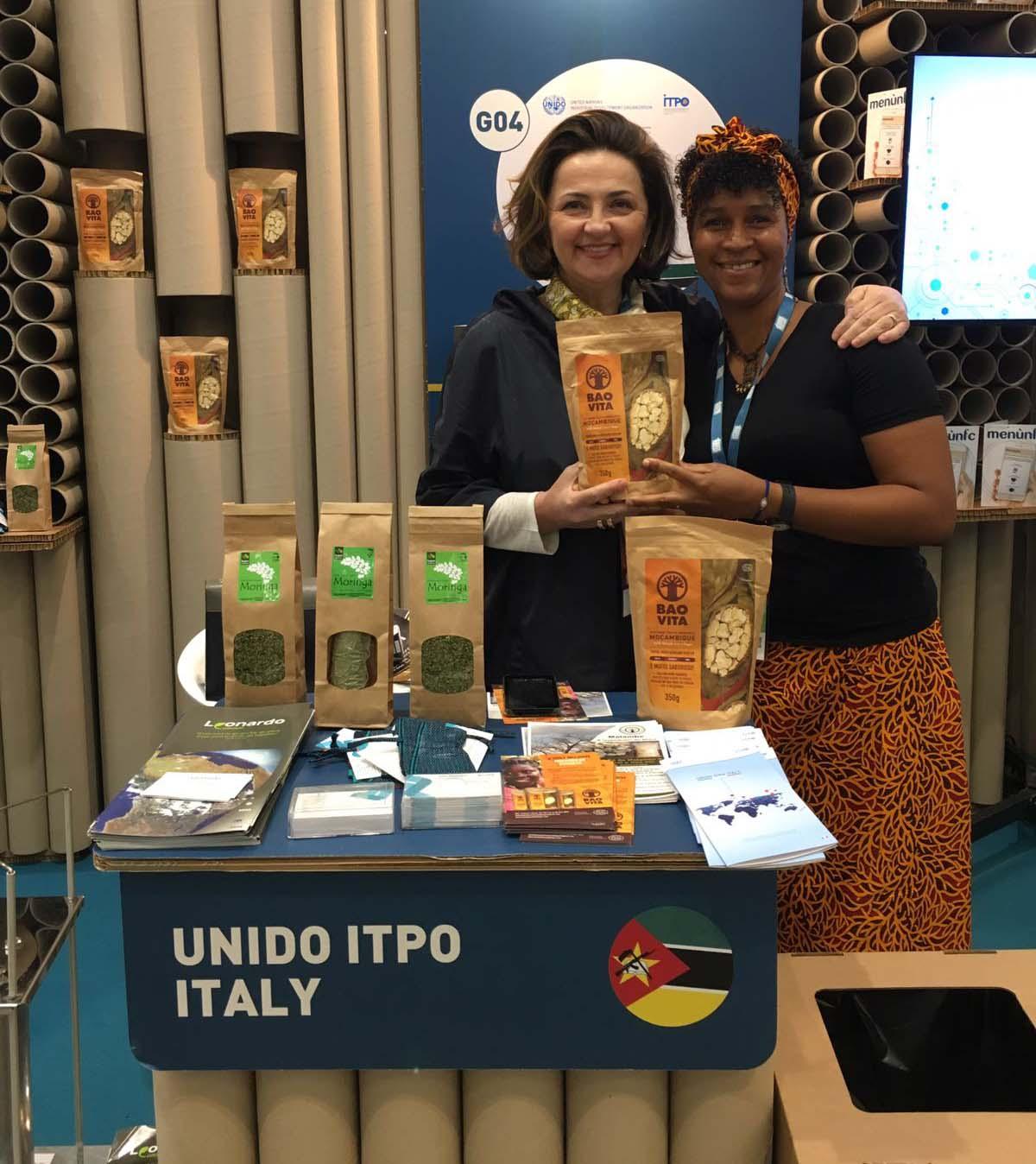UNIDO ITPO Italy presente a Seeds&Chips 2018