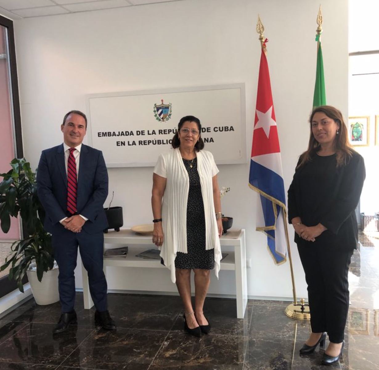 UNIDO ITPO Italy meets with the Embassy of Cuba in Italy