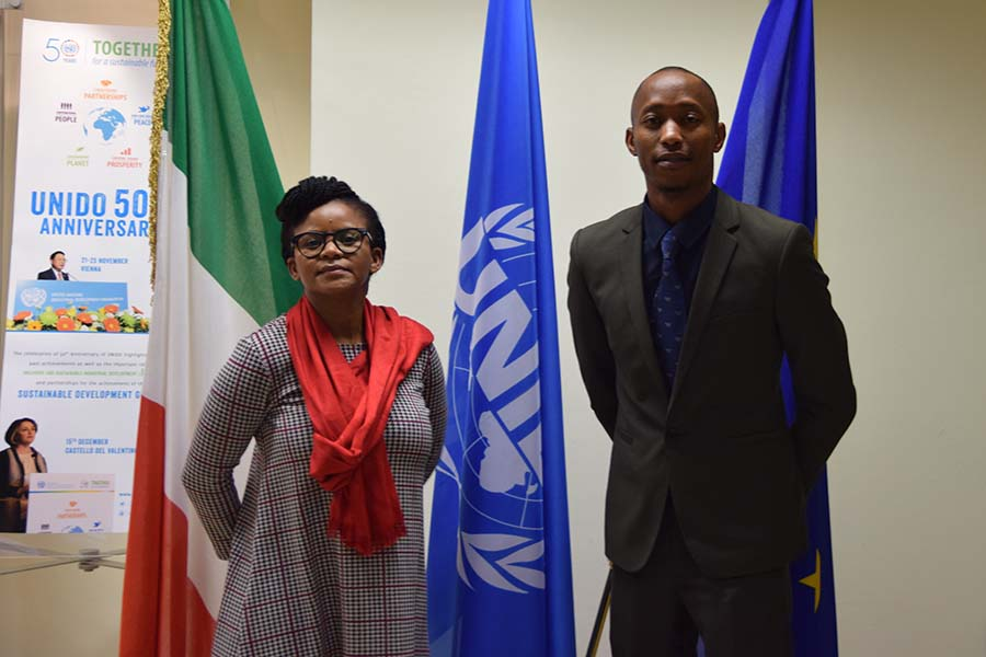 UNIDO ITPO Italy received the second delegates from Botswana