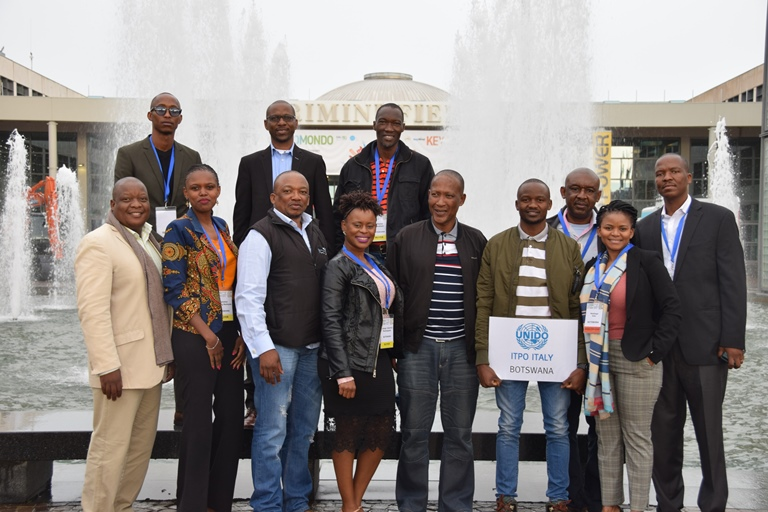 UNIDO ITPO ITALY host a delegation of Botswana in ECOMONDO 2017