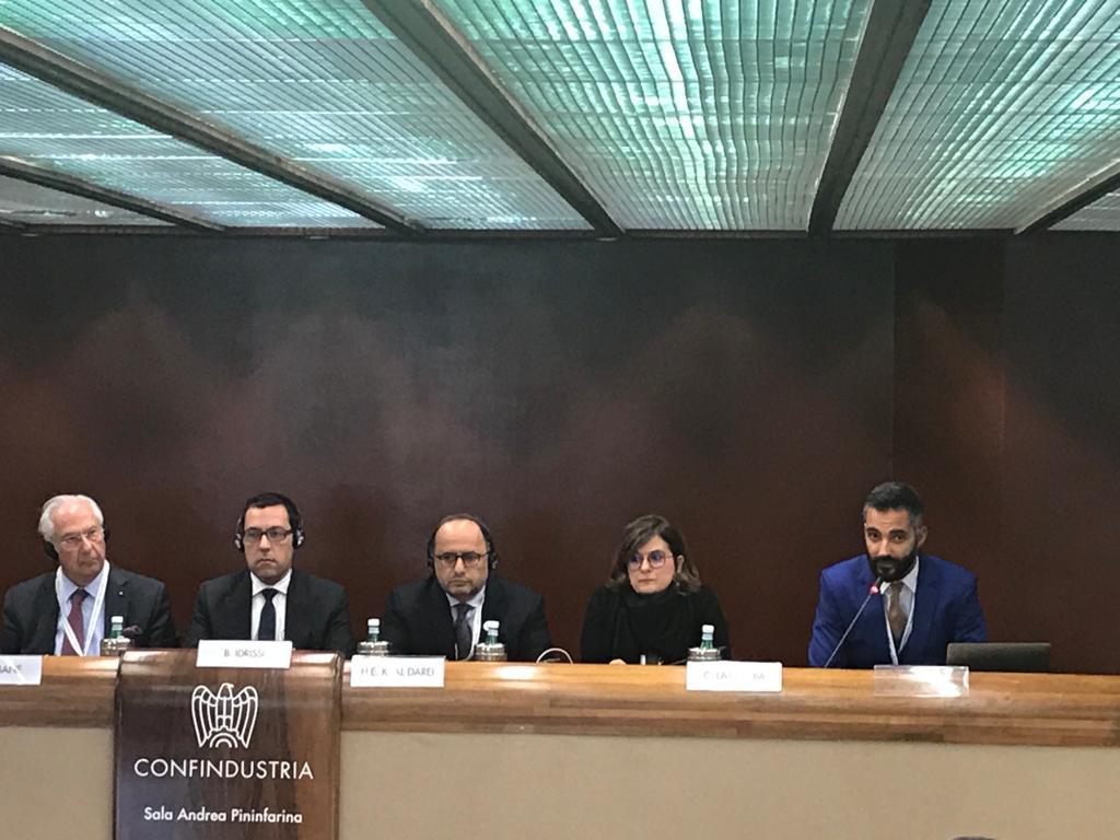 Secondo Italian Arab Business Forum: UNIDO ITPO Italy promuove l'innovazione nell'agribusiness