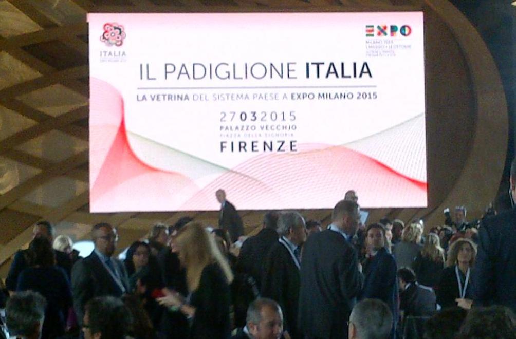 Partecipazione all'evento organizzato dal Padiglione Italia per EXPO 2015
