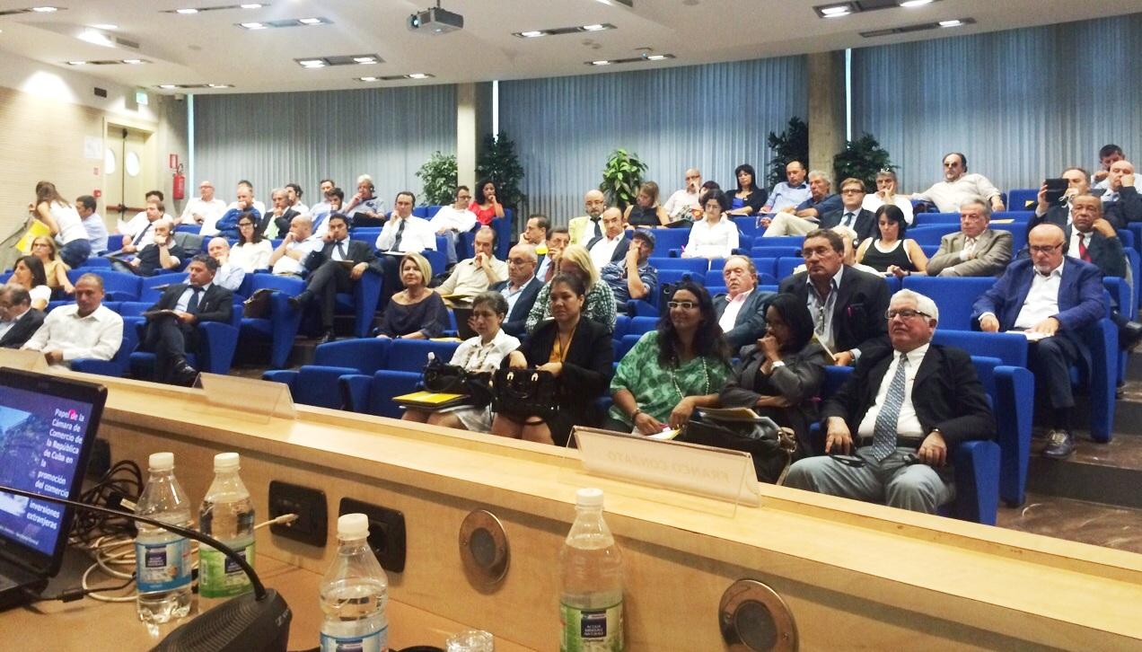 Quarta sessione Comitato Imprenditoriale Cuba-Italia