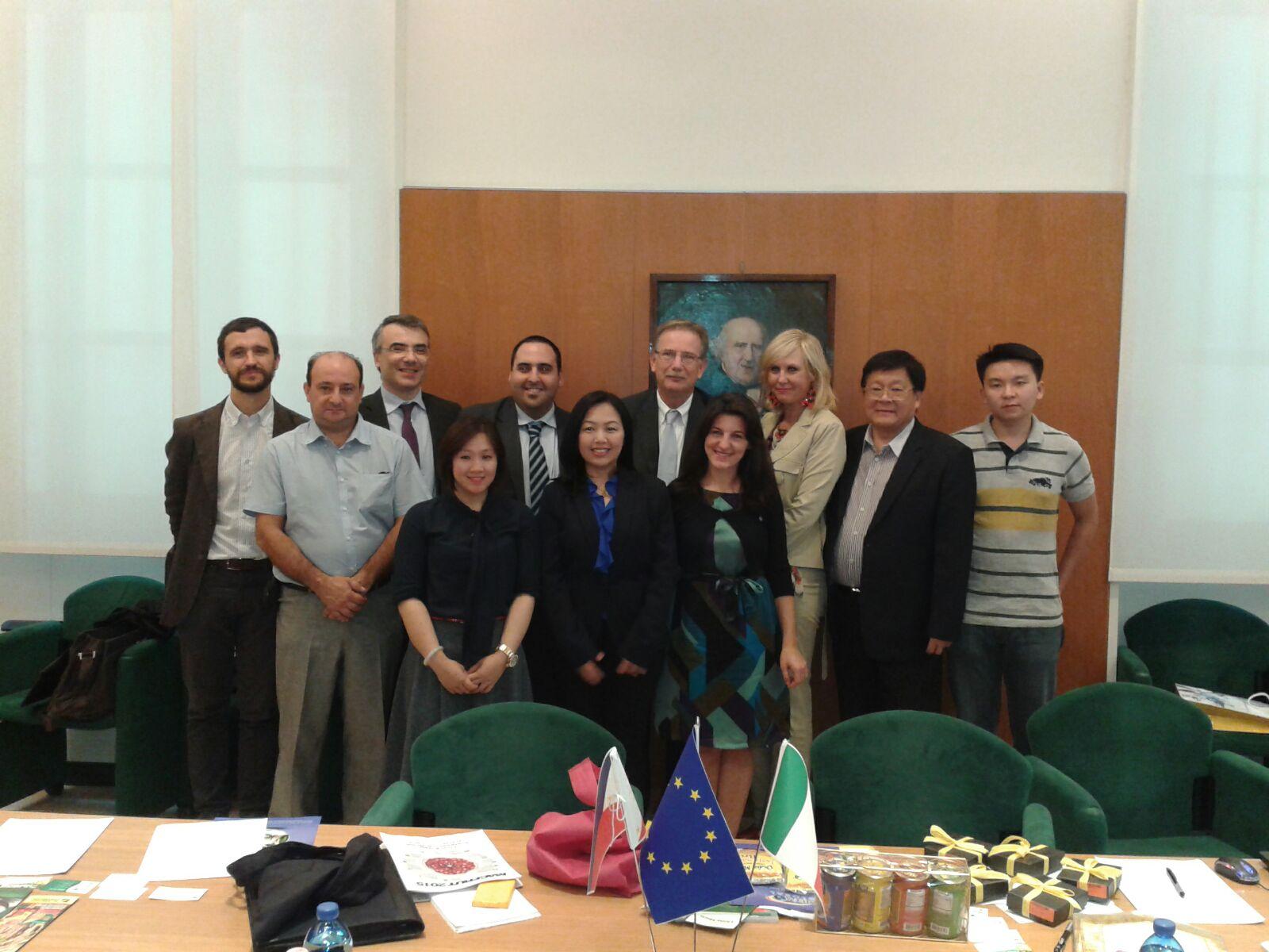 Study Tour: delegazione filippina in visita in Italia
