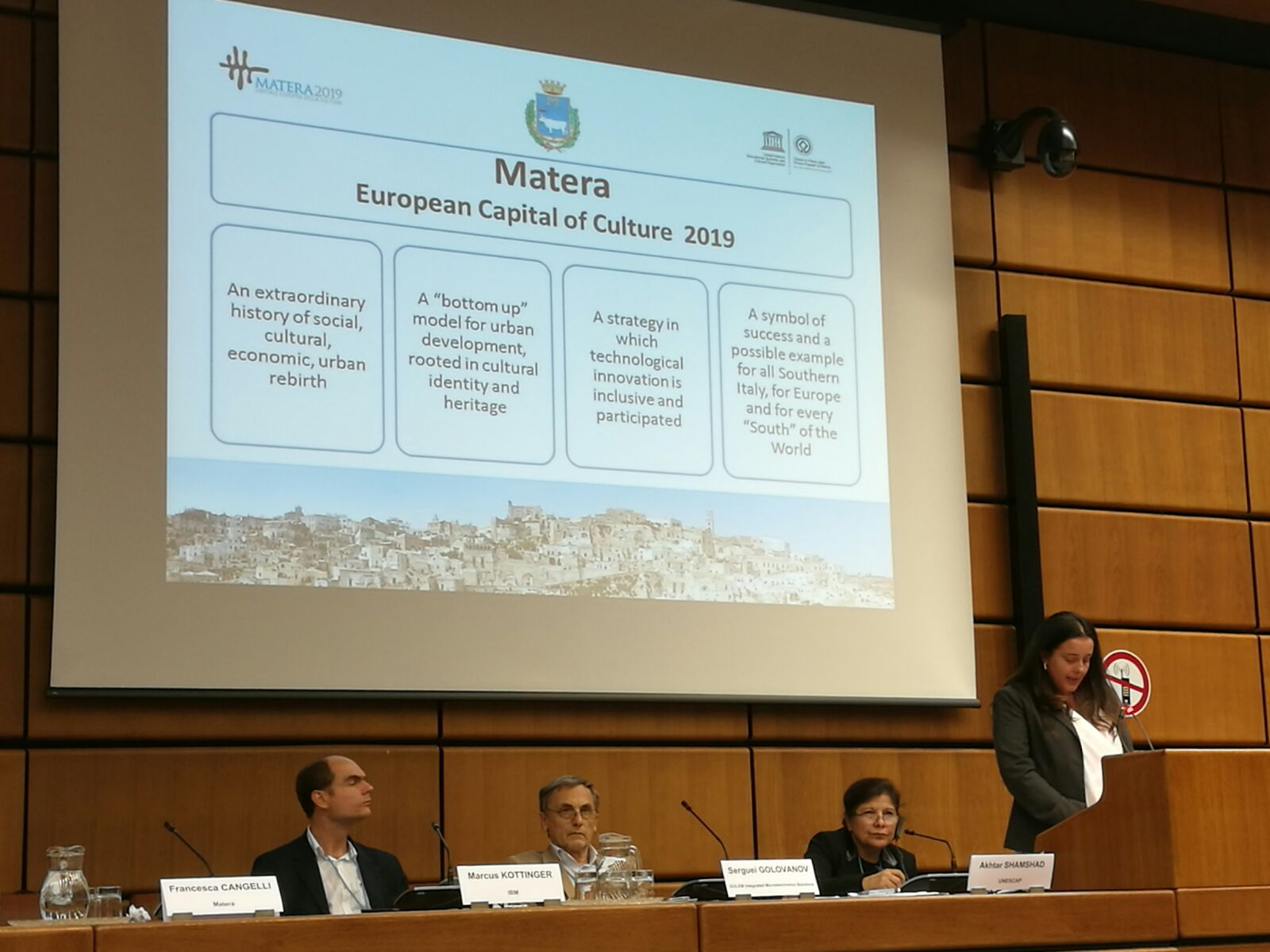 One-Belt-One-Road: UNIDO ITPO Italy has led a delegation of the city of Matera
