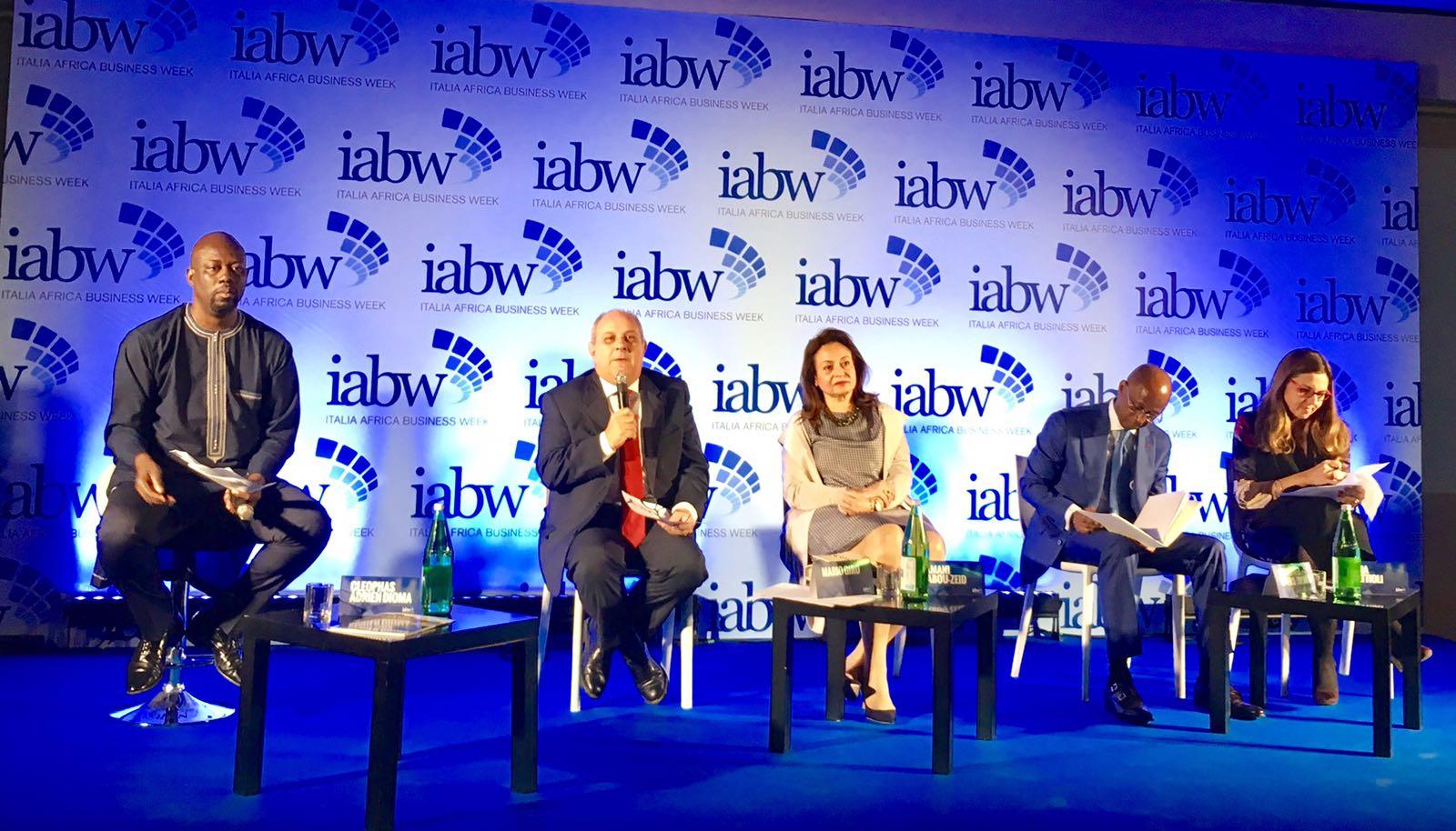 ITPO Italy partecipa alla conferenza di apertura della prima edizione di IABW-Italia Africa Business Week