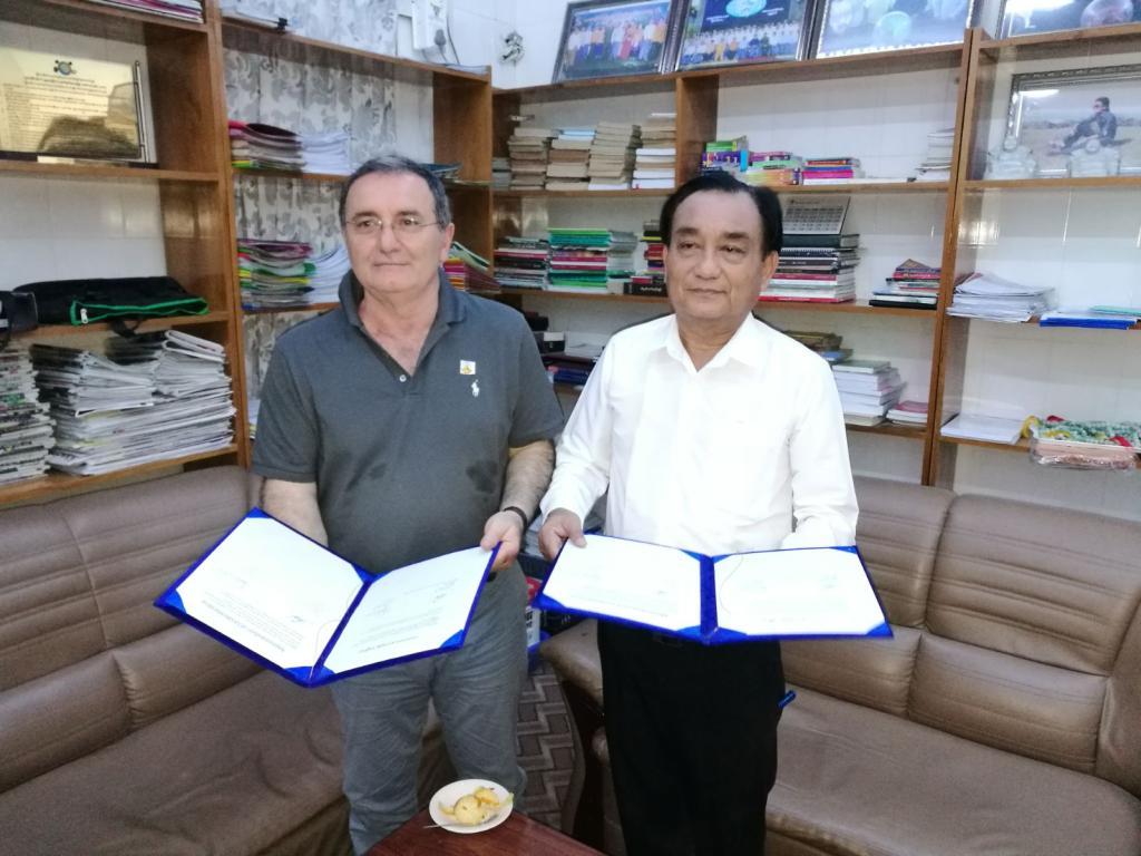 Un Protocollo d'Intesa è stato sottoscritto durante la missione di UNIDO ITPO Italy in Myanmar