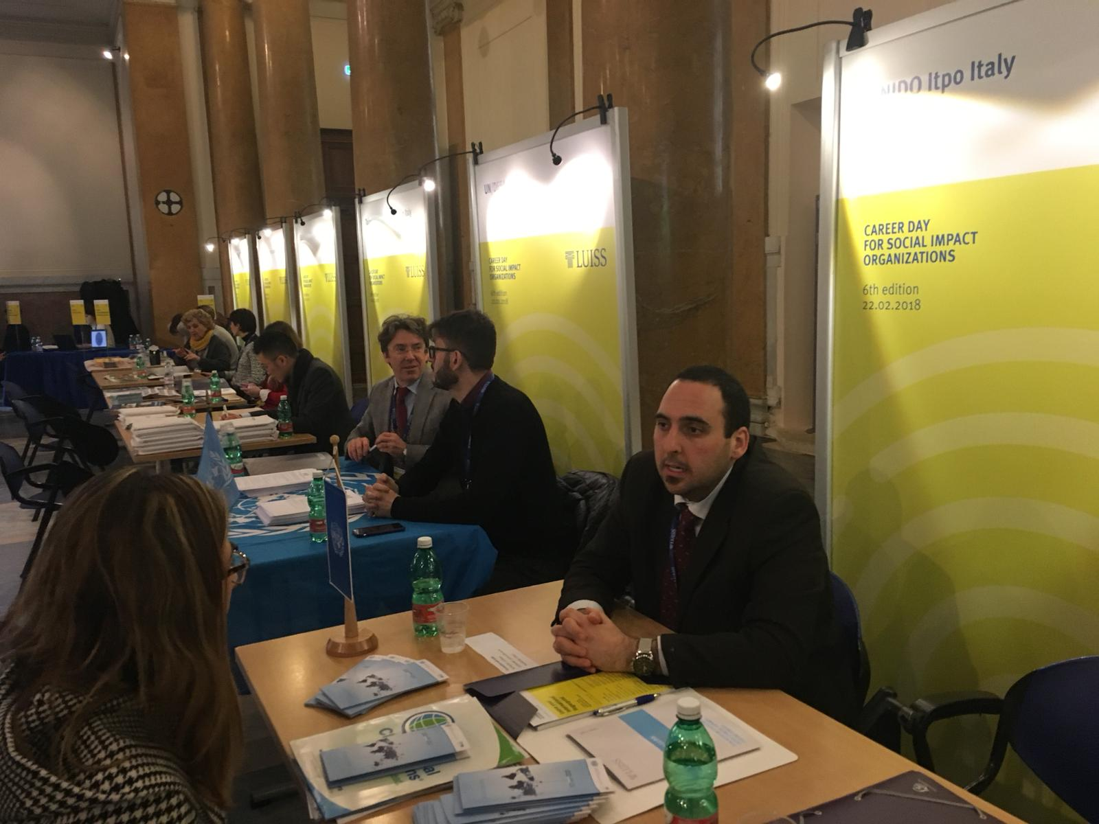 UNIDO ITPO Italy ha partecipato al LUISS Career Day for Social Impact Organizations
