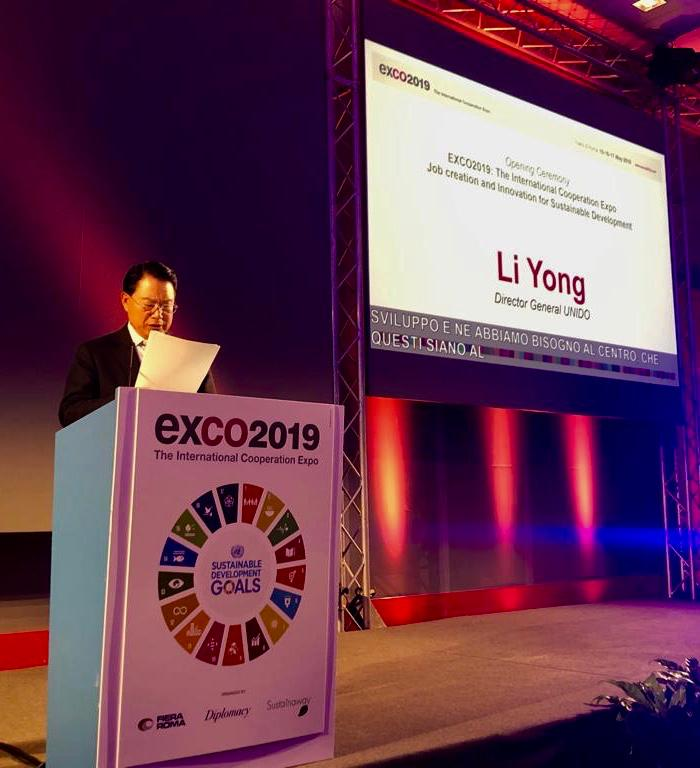 UNIDO ITPO Italy premia i vincitori dell'International Award 2019 a EXCO 2019