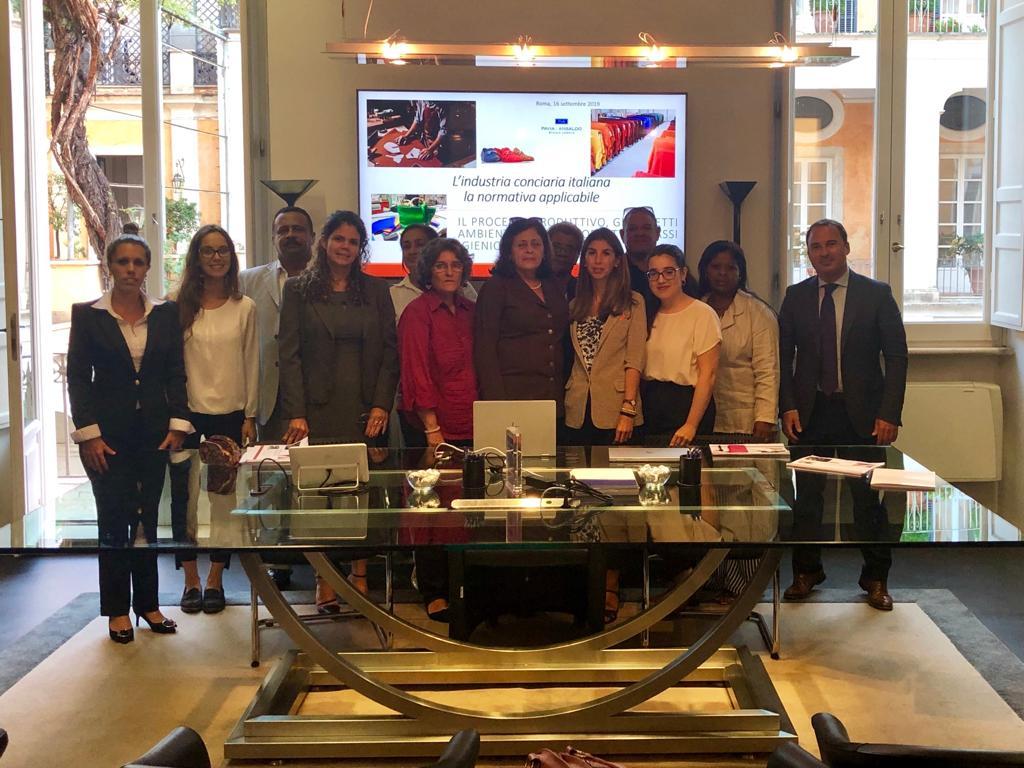 UNIDO ITPO Italy organizza lo study tour in Italia per la Delegazione cubana