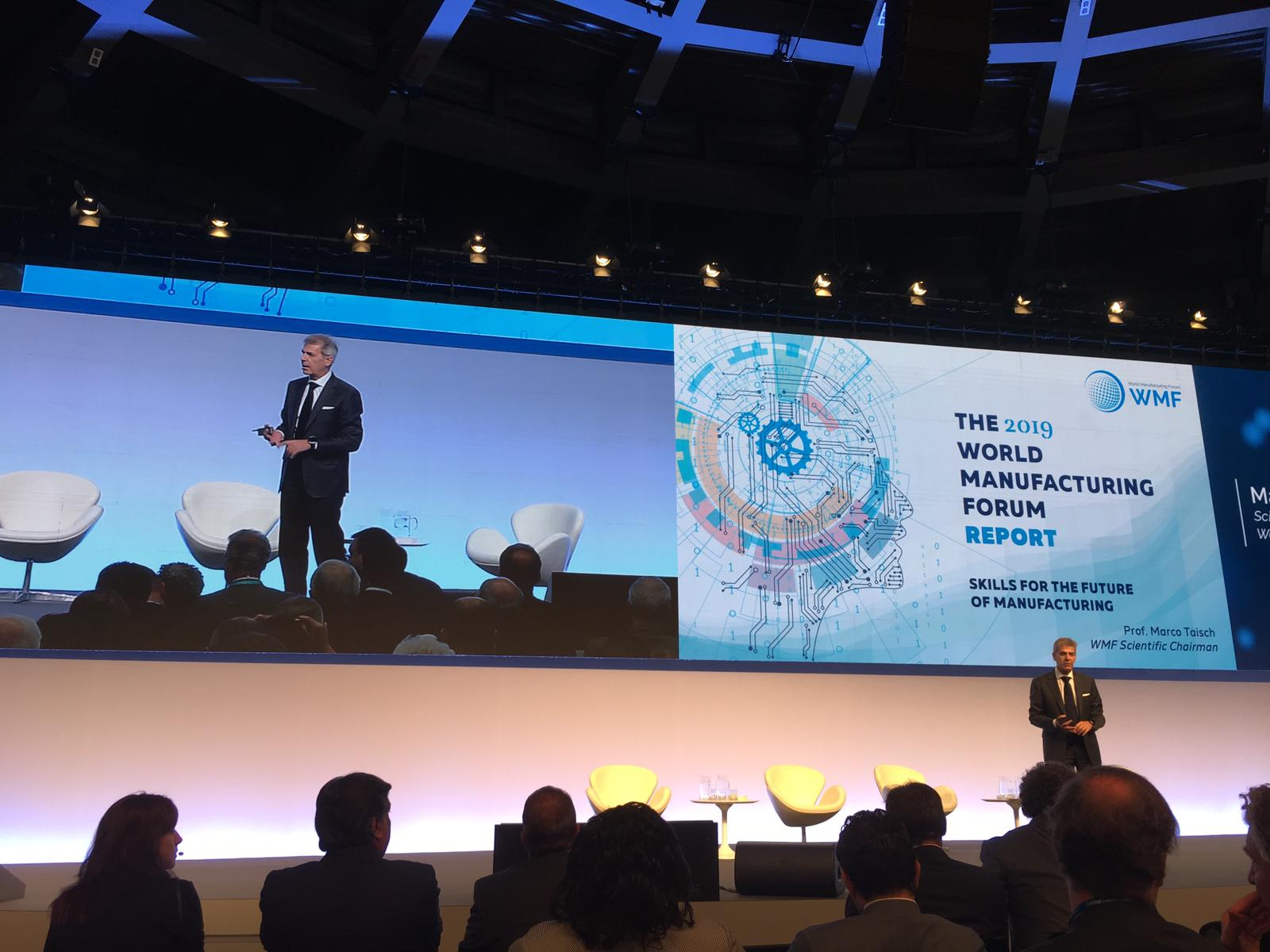 UNIDO ITPO Italy at World Manufacturing Forum 2019  to focus on industrial skills in Developing Countries