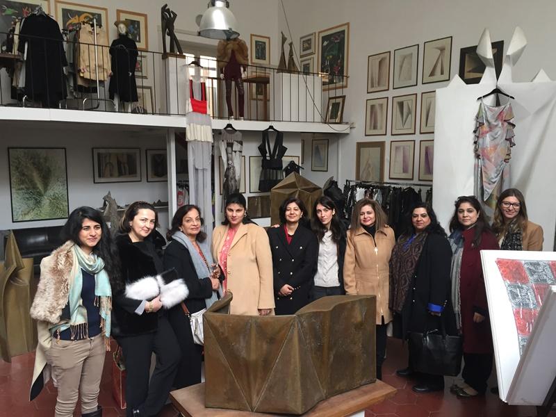 Stiliste Pakistane incontrano il Mondo della Moda Italiana