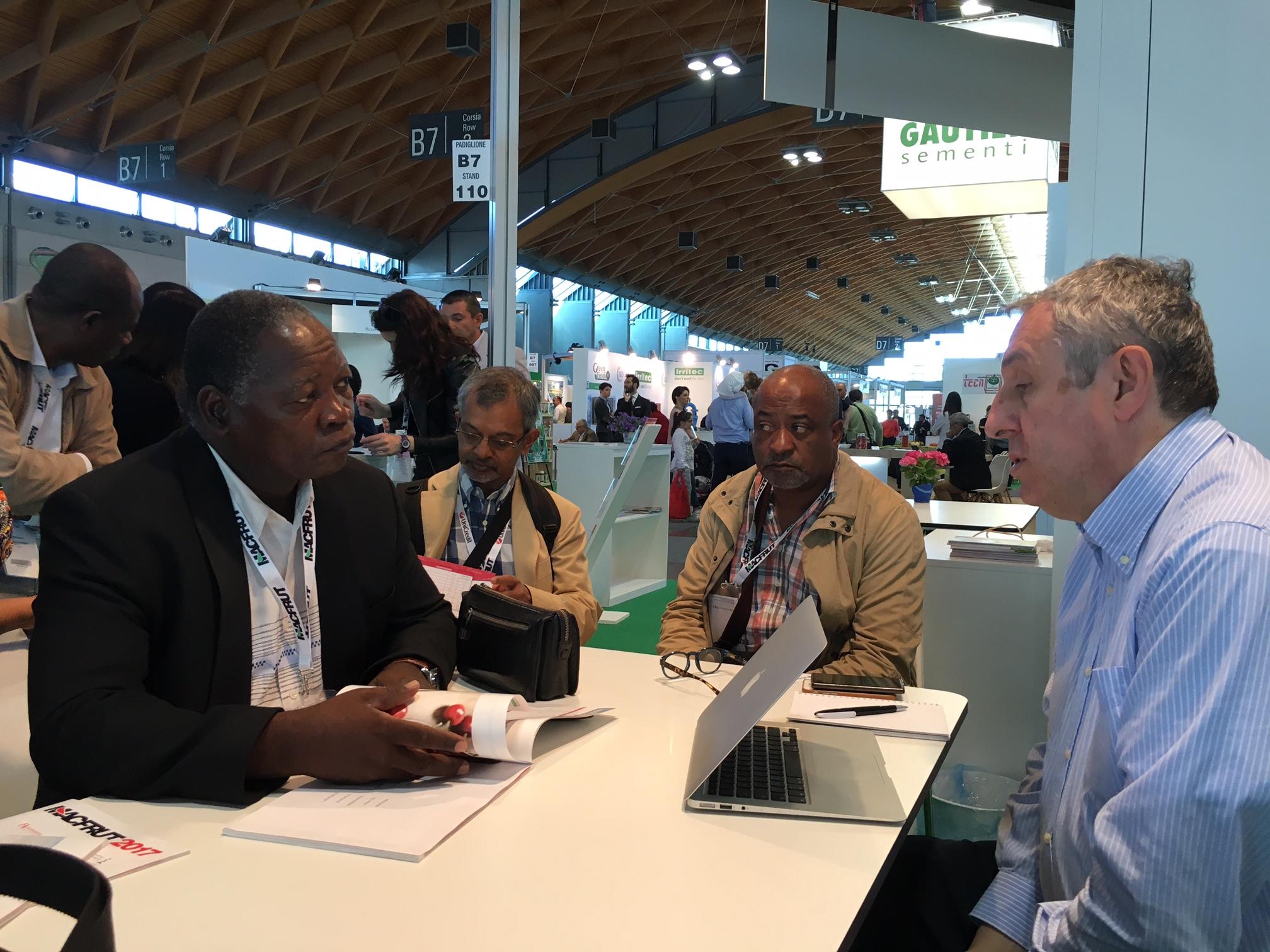 UNIDO ITPO Italy supporta numerose imprese del Mozambico in occasione di TUTTOFOOD e MACFRUT