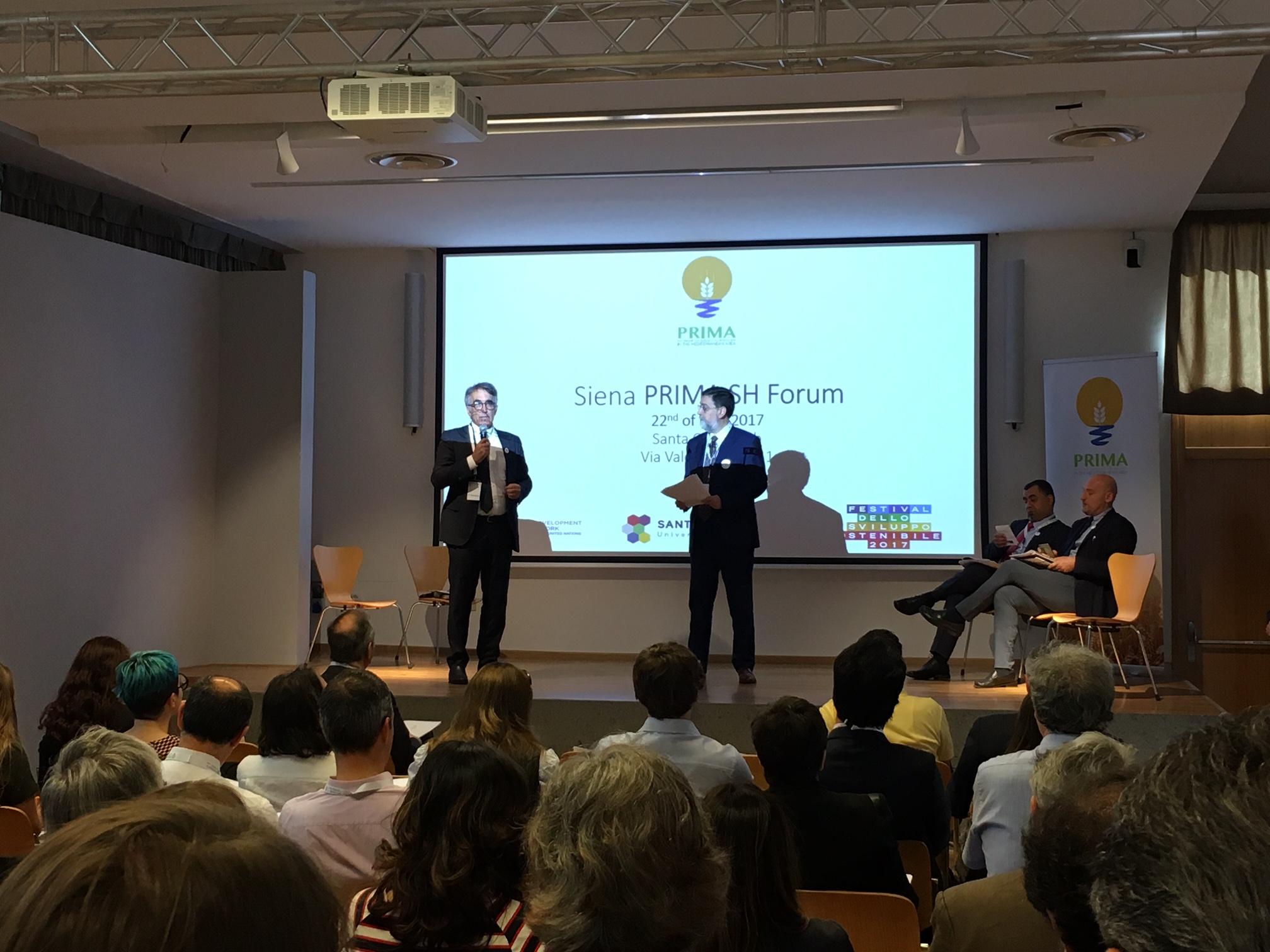 UNIDO ITPO Italy invitato a partecipare al  Forum degli Stakeholder dell'iniziativa PRIMA