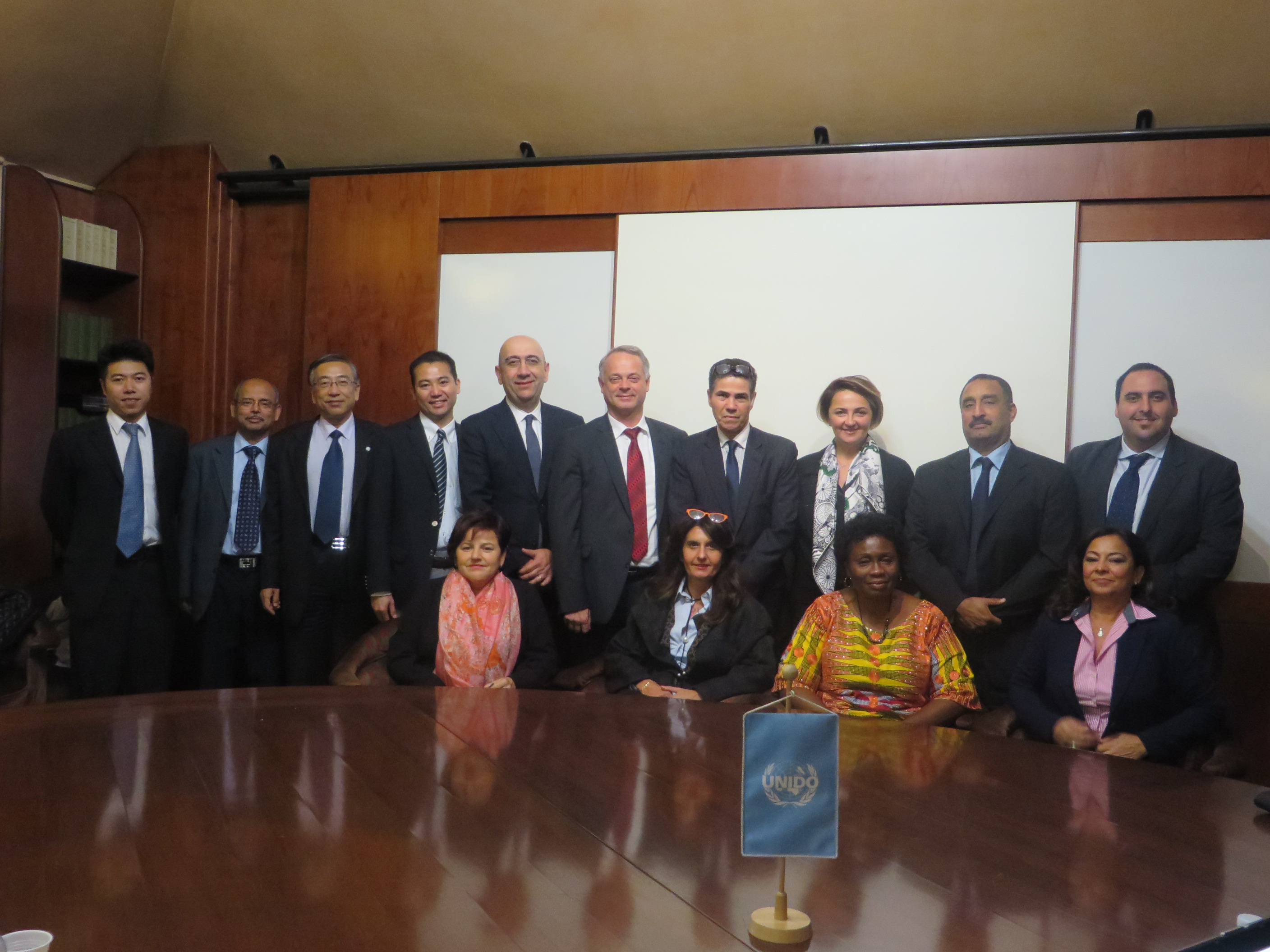 UNIDO ITPO Heads meeting 2015