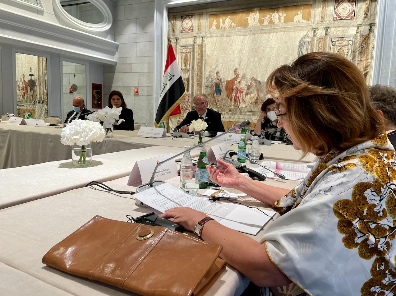 Tavola rotonda con il Primo Ministro Iracheno Mustafa Al-Khadimi