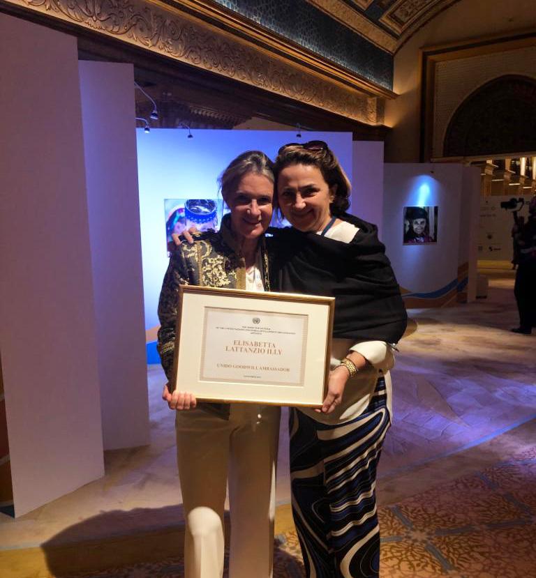 Elisabetta Illy nominata Goodwill Ambassador di UNIDO - UNIDO18GC