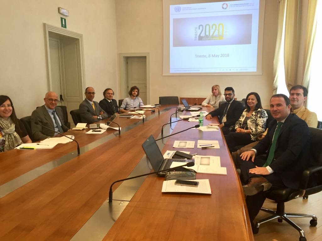 "Evento lancio del progetto ""Innovation bridge Trieste-Dubai 2020"""