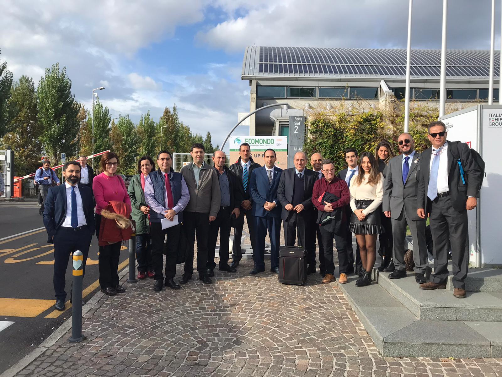 Ecomondo 2019: Delegazioni dall'Africa e dalla Regione del MENA accompagnate da UNIDO ITPO Italy