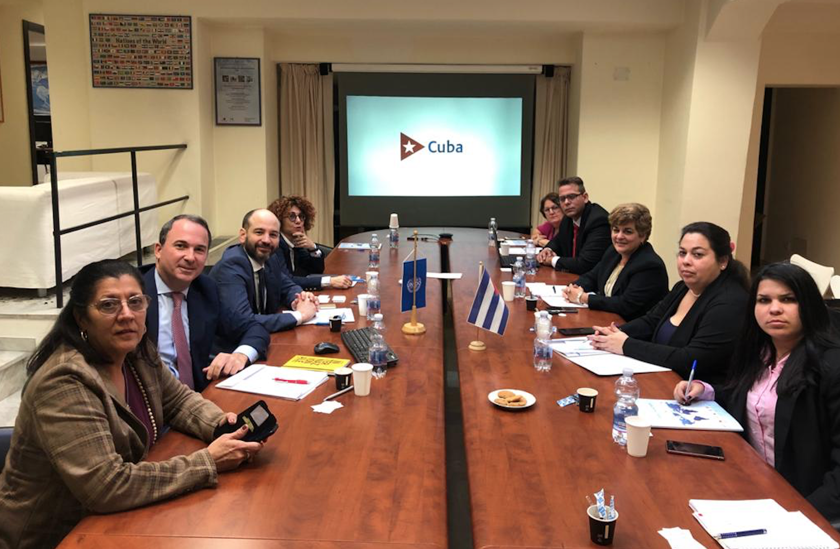 MINCEX Delegation promotes Cuban investment opportunities within a roadshow in Italy