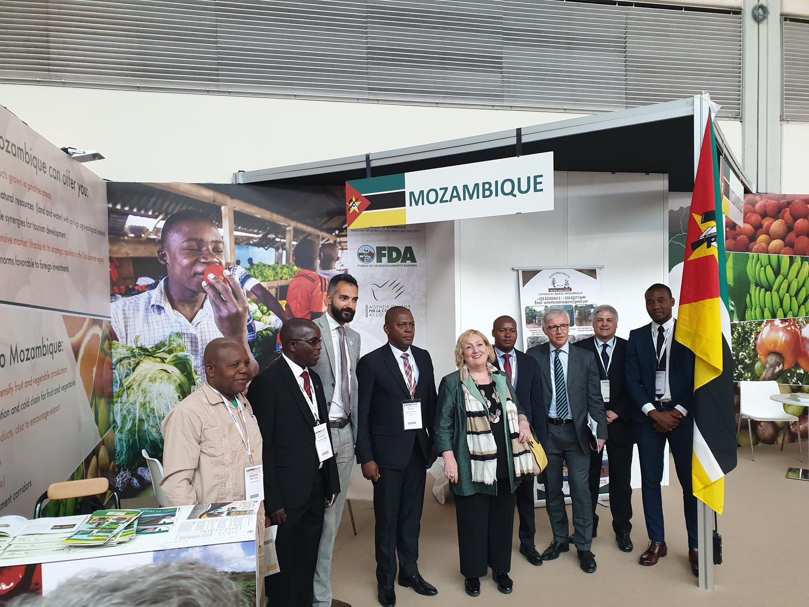 Incoming delegation from Mozambique and Somailia to Macfrut Fair