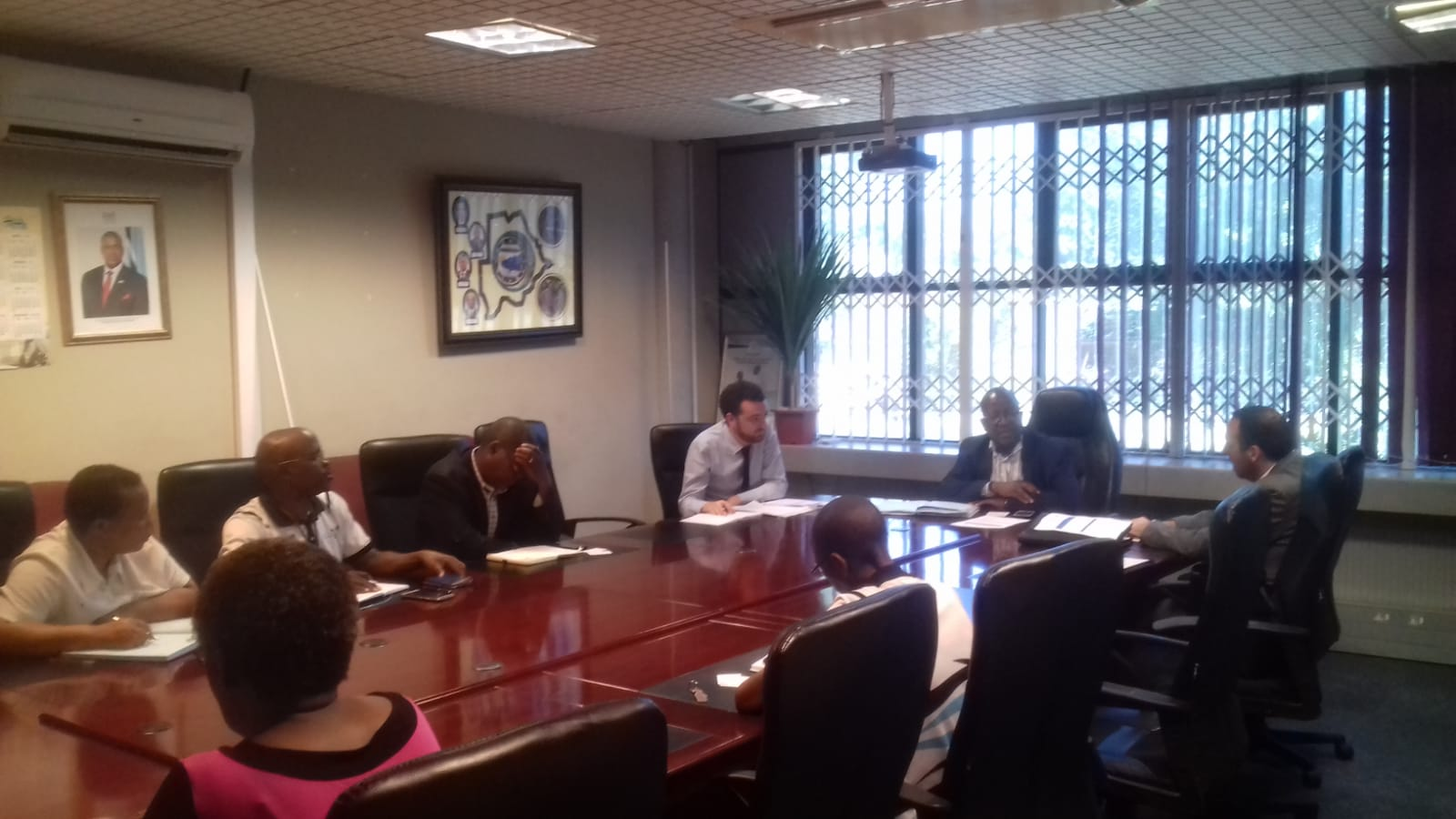 Meeting with MENT in Botswana