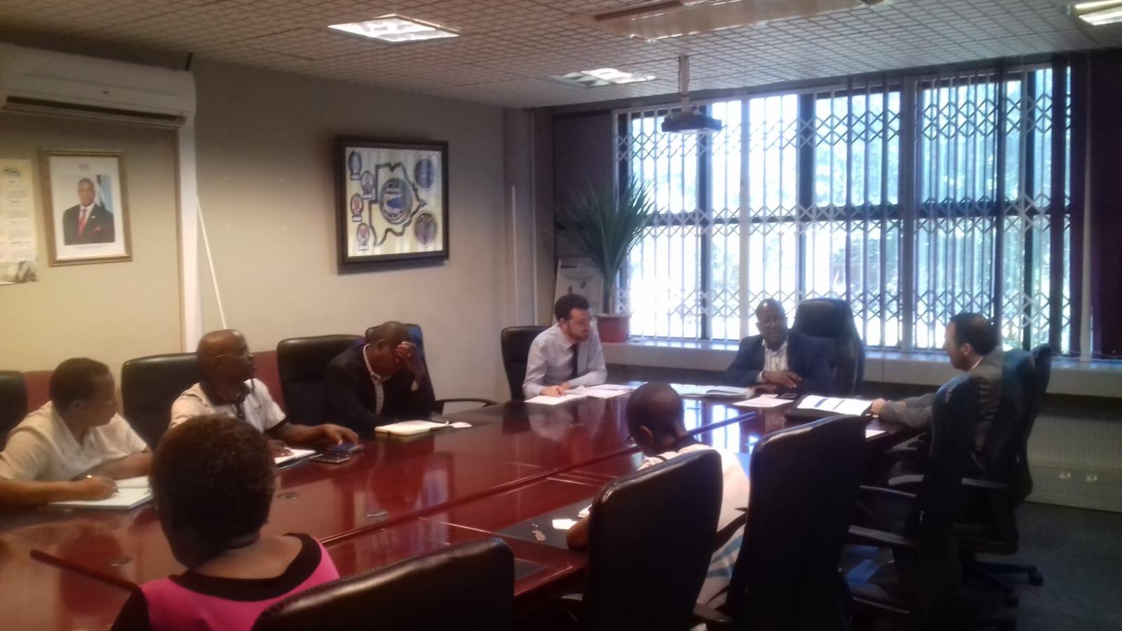 Incontro con MENT in Botswana