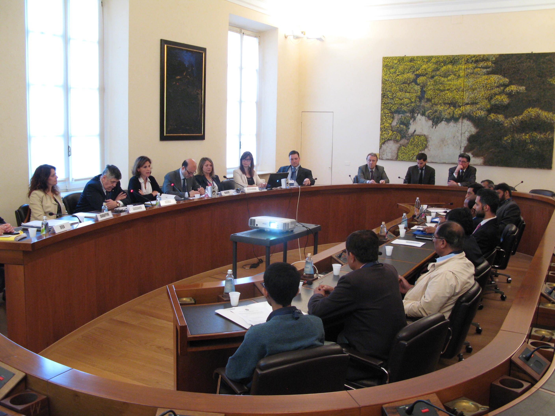 Visita ufficiale di una delegazione Pakistana  a Parma