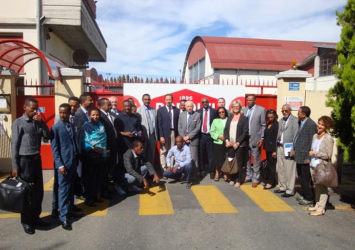 Delegazione Etiope di Alto Livello in visita a Parma