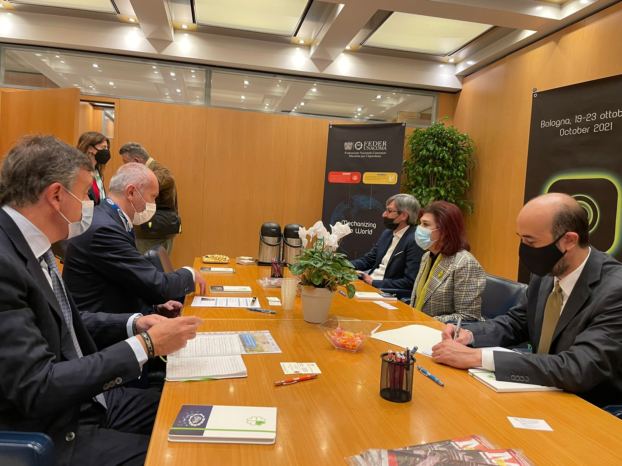 EIMA 2021: UNIDO ITPO Italy organizes institutional delegation of the Embassy of Iraq in Italy