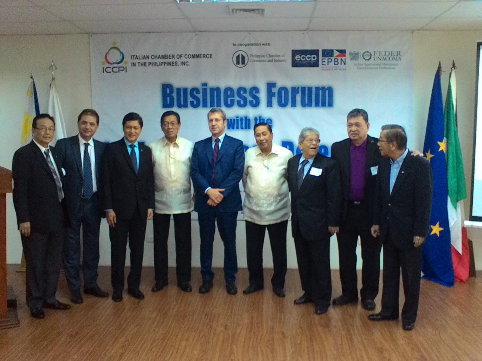 Missione nelle Filippine per la valorizzazione del settore agro-industriale