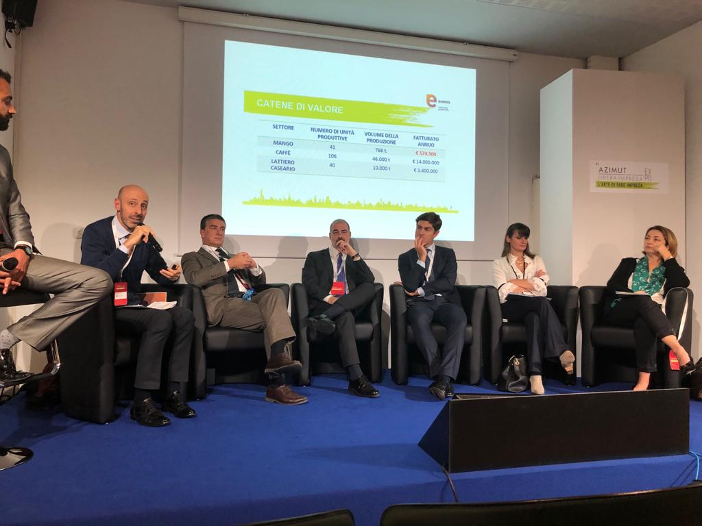 AZIMUT LIBERA IMPRESA EXPO:  ITPO Italy organized a panel on sustainable finance and opportunities in DCs