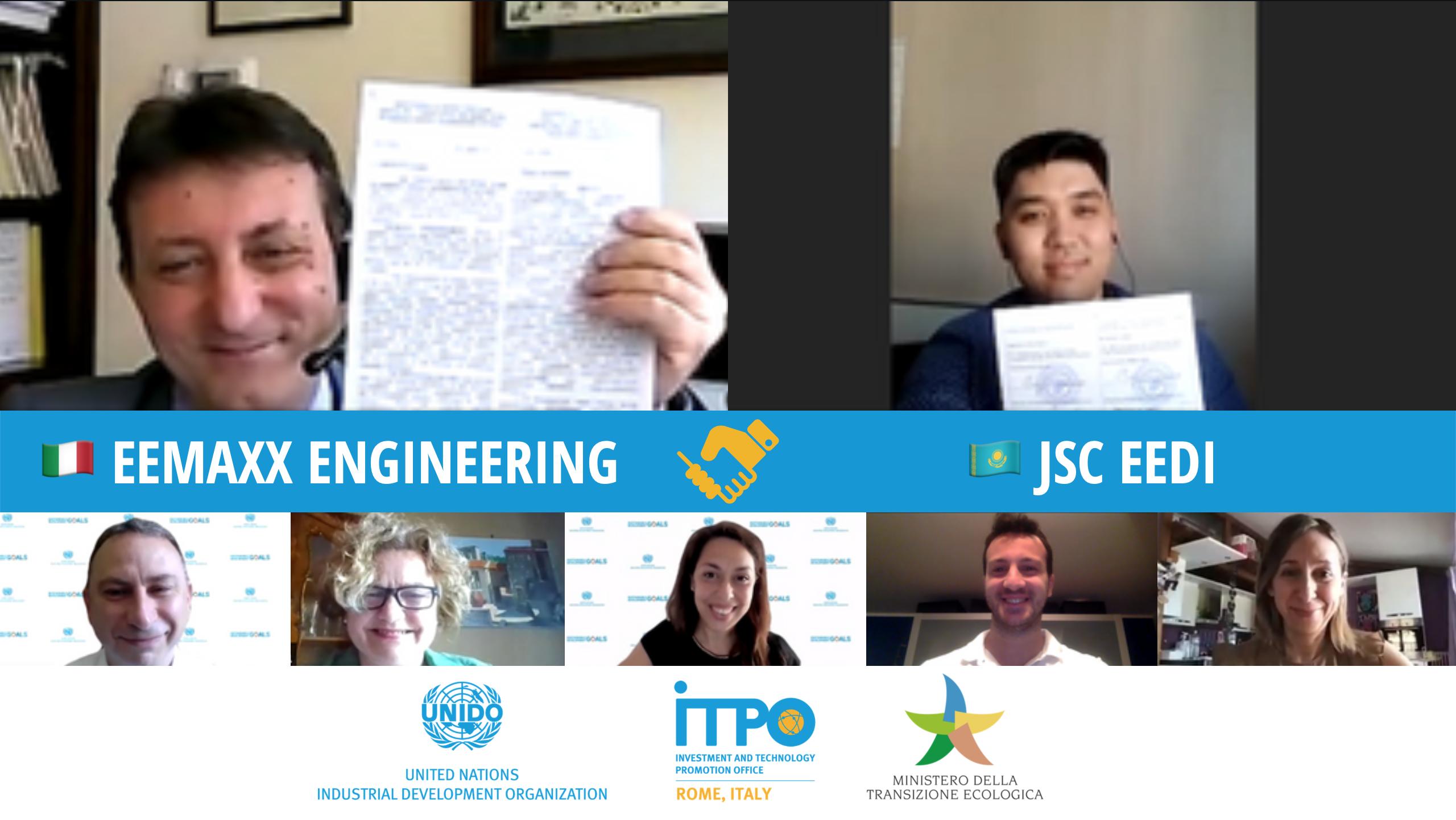 Partnership tra Eemaxx Engineering e JSC Electric Power & Energy Saving Development Institute