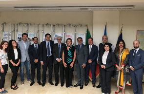 UNIDO ITPO Italy ha incontrato una delegazione Pakistana per esplorare le opportunità di business