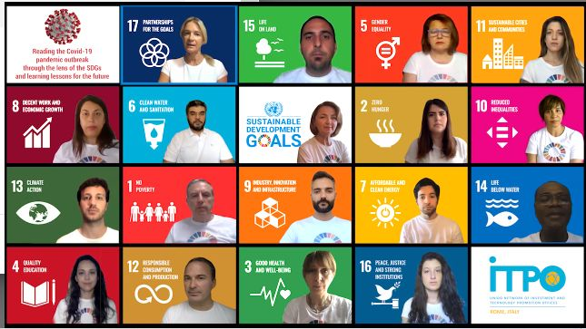UNIDO ITPO Italy: analyzing COVID-19 emergency through the holistic approach of the SDGs