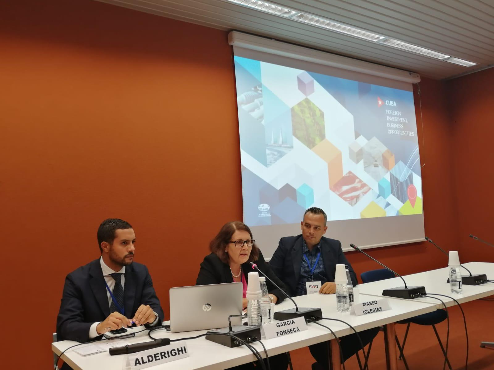 UNIDO ITPO Italy organized a study tour in FVG Region focused on maritime sector for two Cuban delegates